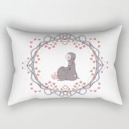 Young Bunny Rectangular Pillow