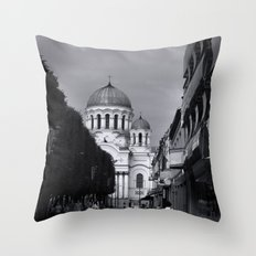 When In Lithuania Throw Pillow