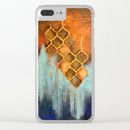 Golden Tales Clear iPhone Case