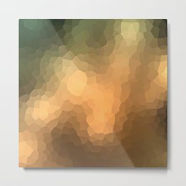 "Abstract pattern ""Sunny day "". Metal Print"