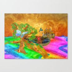 Let color bring you smiles as you walk lifes many miles Canvas Print