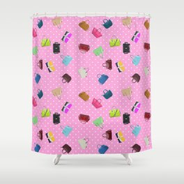 Purses and Handbags Shower Curtain