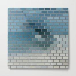 Colorful Tile Metal Print