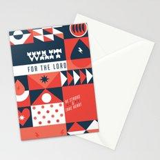 20/52: Psalm 27:14 Stationery Cards