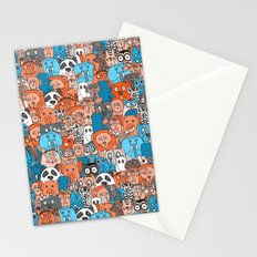 plushies retro Stationery Cards