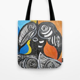 Two Toucans Tote Bag