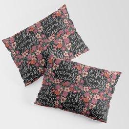 Best Wishes, Warmest Regards Pillow Sham