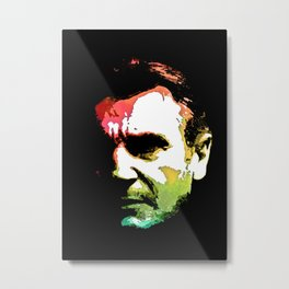 Bryan Mills Liam Neeson Taken actor Northern Irish holds Irish British  American citizenship Metal Print