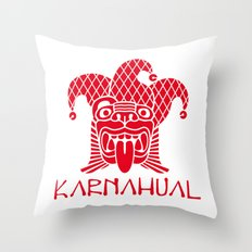 Karnahual Throw Pillow
