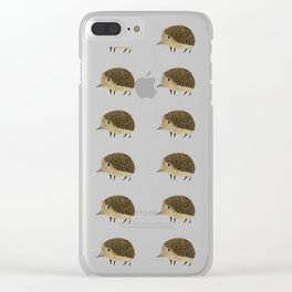 Betty The Hedgehog Clear iPhone Case