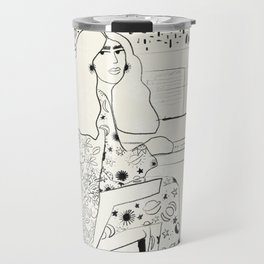 Sound of fingertips Travel Mug