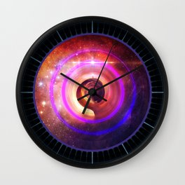 The Surreal Lighthouse at the End of the Universe Wall Clock