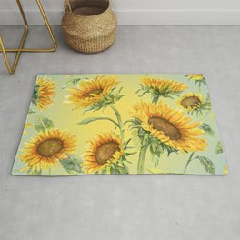 Sunflowers 2 Rug