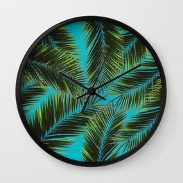 The Style Of Leaves Wall Clock