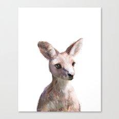 Little Kangaroo Canvas Print