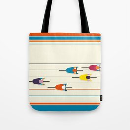 Never stop riding! Tote Bag