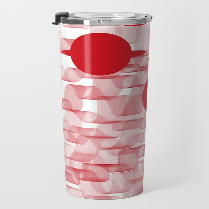 red planets Travel Mug