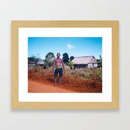 Antinio Monsanto Framed Art Print