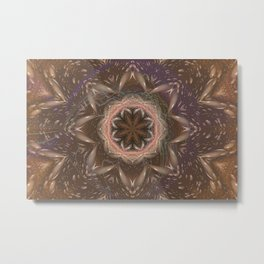 The 5th Dimension is Within - Kaleidoscope Metal Print