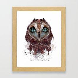 Owl Dream Catcher Framed Art Print