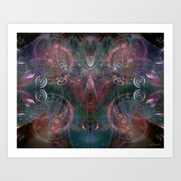Infinite Correlation Art Print