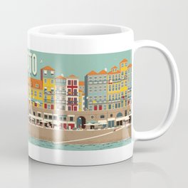 Porto - panoramic Coffee Mug