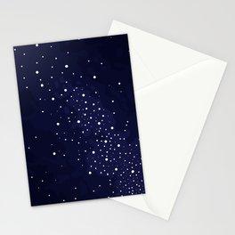 Starry Night Sky Stationery Cards