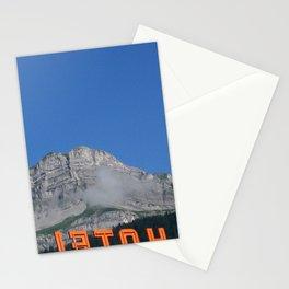 Chamonix hotel Stationery Cards