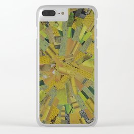 """""""The Green Energy"""" Ecologic atypic art by WHITEECO Ecologic design Clear iPhone Case"""