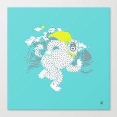 Save the Yeti Canvas Print