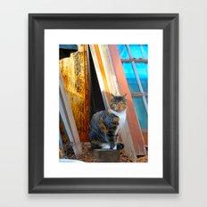 Chessie Framed Art Print