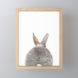 Bunny Butt Framed Mini Art Print