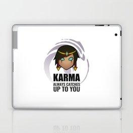 Karma w/ quote Laptop & iPad Skin