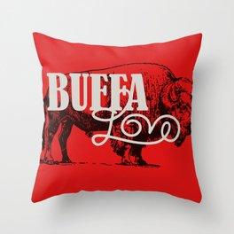 BUFFA LOVE Throw Pillow