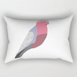 Gouache Australian Gallah Cockatoo  Rectangular Pillow