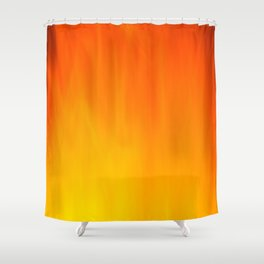 Mark Rothko Inspired Fire Painting Shower Curtain