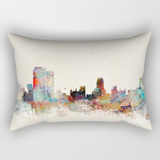 madrid spain skyline Rectangular Pillow