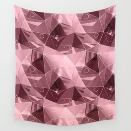 Abstract polygonal pattern.3 Wall Tapestry