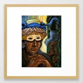 Latterday dreaming Framed Art Print