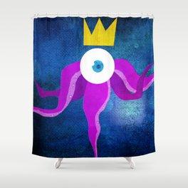 Steampunk king octopus Shower Curtain