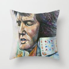 The King - Elvis Presley Throw Pillow