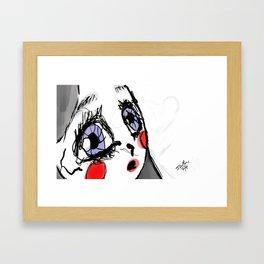 """Rosy or Rosacea?""  Framed Art Print"