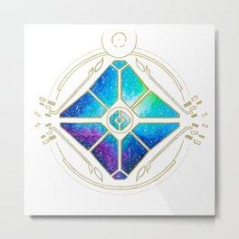 Nebula Ghost Metal Print