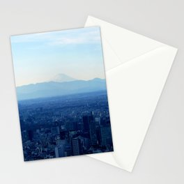 Fuji in the Distance Stationery Cards