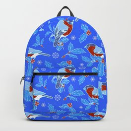 bullfinches and Holly Backpack