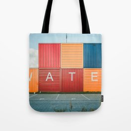 Amsterdam Noord Containers Tote Bag