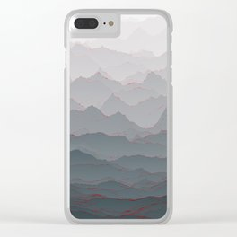 Mountains of Madness I Clear iPhone Case