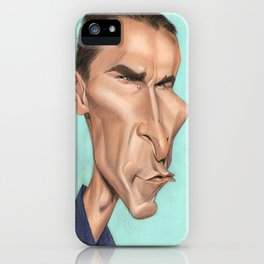 Christian Bale iPhone Case