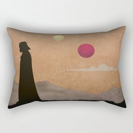 Vader in Tatooine Rectangular Pillow