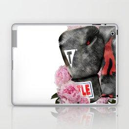 Peonies Boxing Glove Design Laptop & iPad Skin